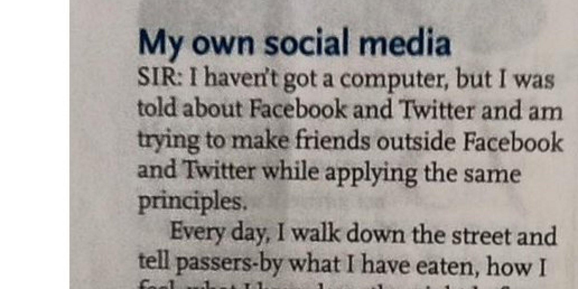 Facebook Behaviour In Real Life Is So Dumb Youll Wonder