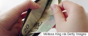WALLET CANADIAN MONEY