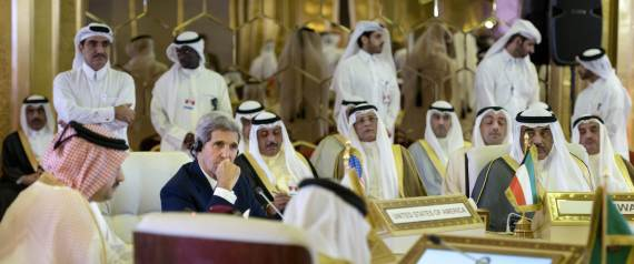 JOHN KERRY IN QATAR