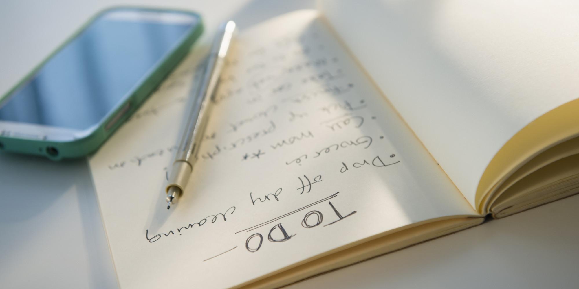 Өөрт чухал зүйлсээ жагсаан бич