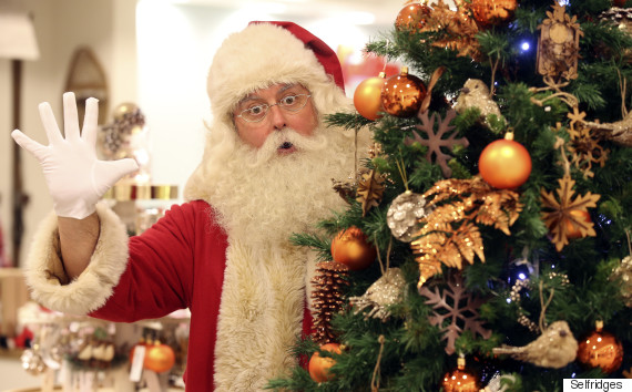 selfridges london christmas store