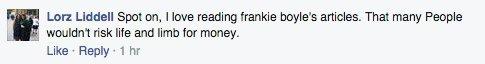 frankie boyle response
