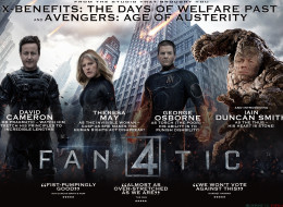 In Cinemas Now: David Cameron, Theresa May, IDS And George Osborne ARE: The Fanatic Four