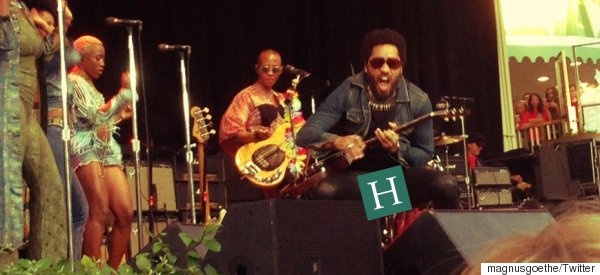 Lenny Kravitz Just Suffered The Biggest Wardrobe Malfunction In Entertainment History (NSFW)