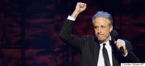 Jon Stewart's Parting Shot At Fox News: 'Adios, Motherf*ckers'