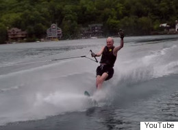 Forget The Election, Here's 81-Year-Old Chretien Water-Skiing
