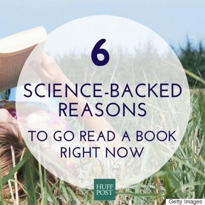 6 Science-Backed Reasons To Go Read A Book Right Now | HuffPost Life