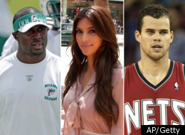 Reggie Bush Kim Kris Humphries
