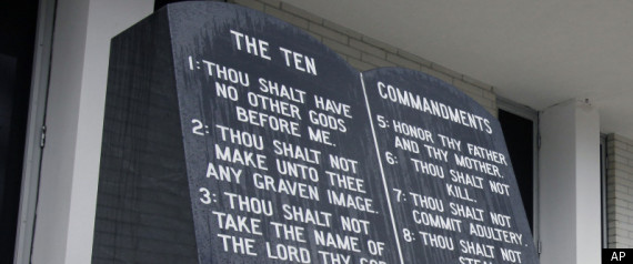 TEN COMMANDMENTS FLORIDA COURTHOUSE