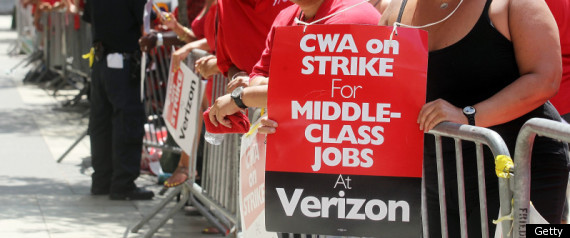Verizon Workers Strike