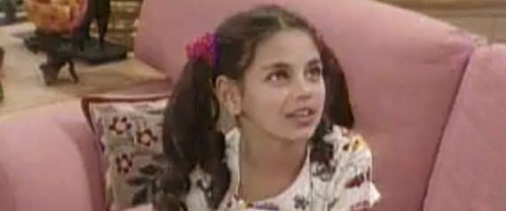 MILA KUNIS AS A KID