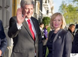 Laureen Harper Campaigns Solo