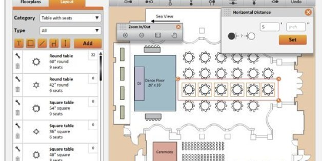 The Best Digital Seating Charts For Wedding Planning