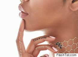 Beyoncé Releases Her Own Line Of Flash Tattoos And Upsets Rihanna (Probably)