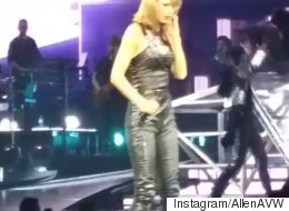 Taylor Swift Left Startled By Near-Stage Invasion