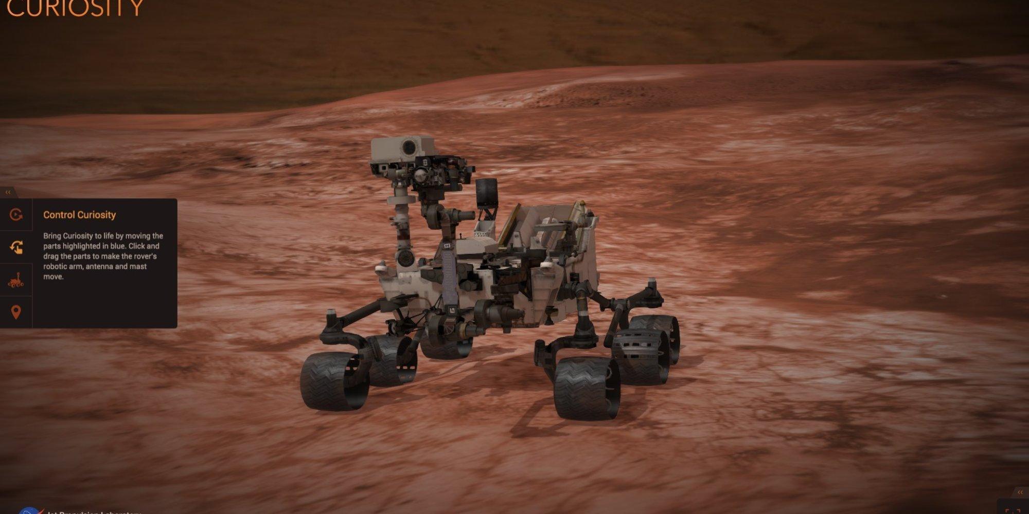mars rover simulator - photo #8