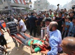 Al menos cuatro palestinos muertos en Gaza por la explosión de una bomba de hace un año