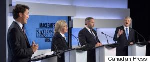 LEADERS DEBATE CANADA