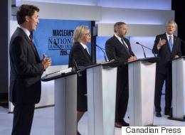 Harper On The Defensive In First Leaders' Debate