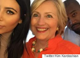Hillary Clinton's Selfie Game Is Strong