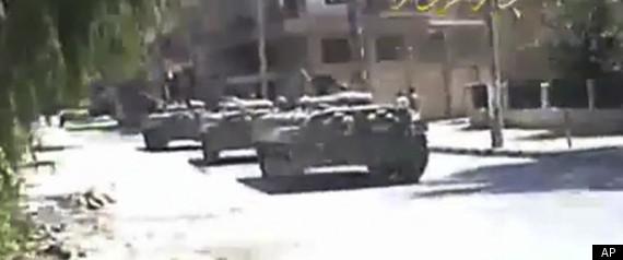 SYRIA PROTESTS DEIR EL ZOUR
