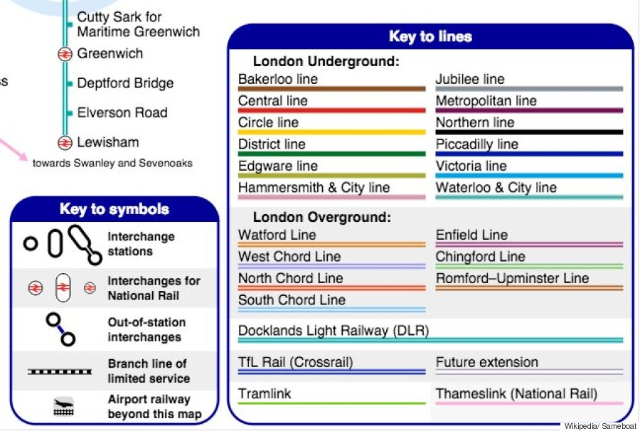 London Underground Unofficial Tube Map Is Even Better Than The