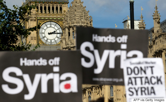 david cameron syria vote