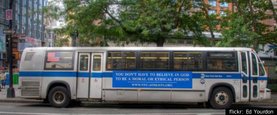 ATHEIST BUS ADS