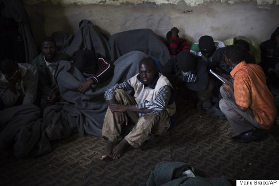 african migrants desperate