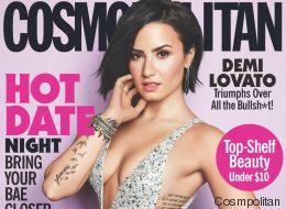 Demi Lovato defiende su sexy portada para Cosmopolitan