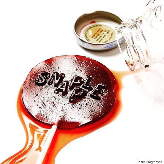 snapple lollipop