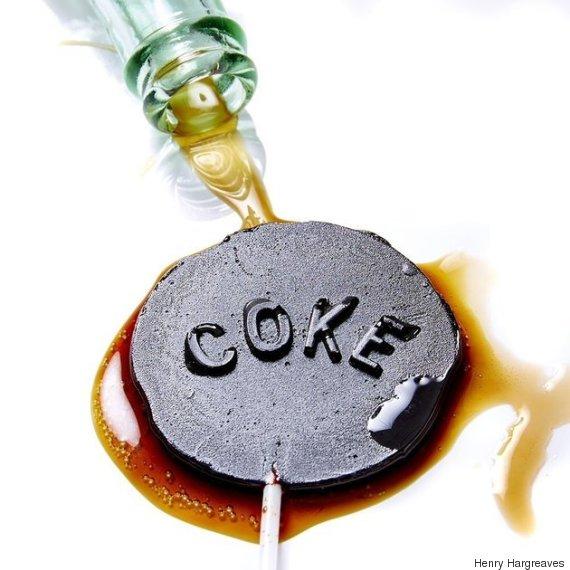 coke alone lollipop
