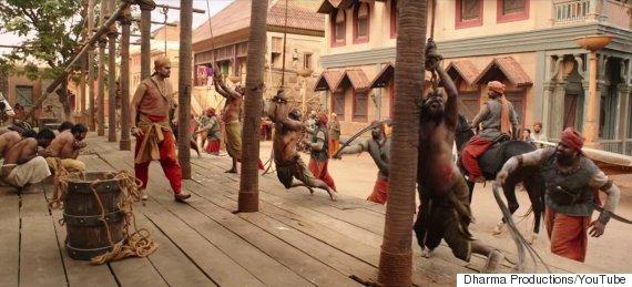 baahubali scene