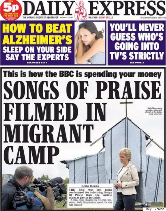 Daily Express doesn't get it