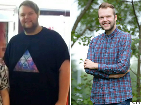 Man 39 too fat for plane seat 39 loses 12 stone in one year so he can travel the world Slimming world meals for one person