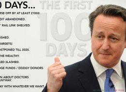 100 Days Of Dave: What David Cameron's Conservative Government Has Done Since The Election