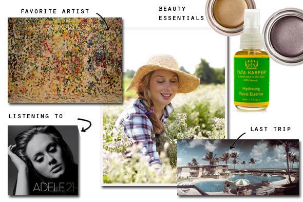 insider information tata harper talks summer makeup adele and more huffpost. Black Bedroom Furniture Sets. Home Design Ideas