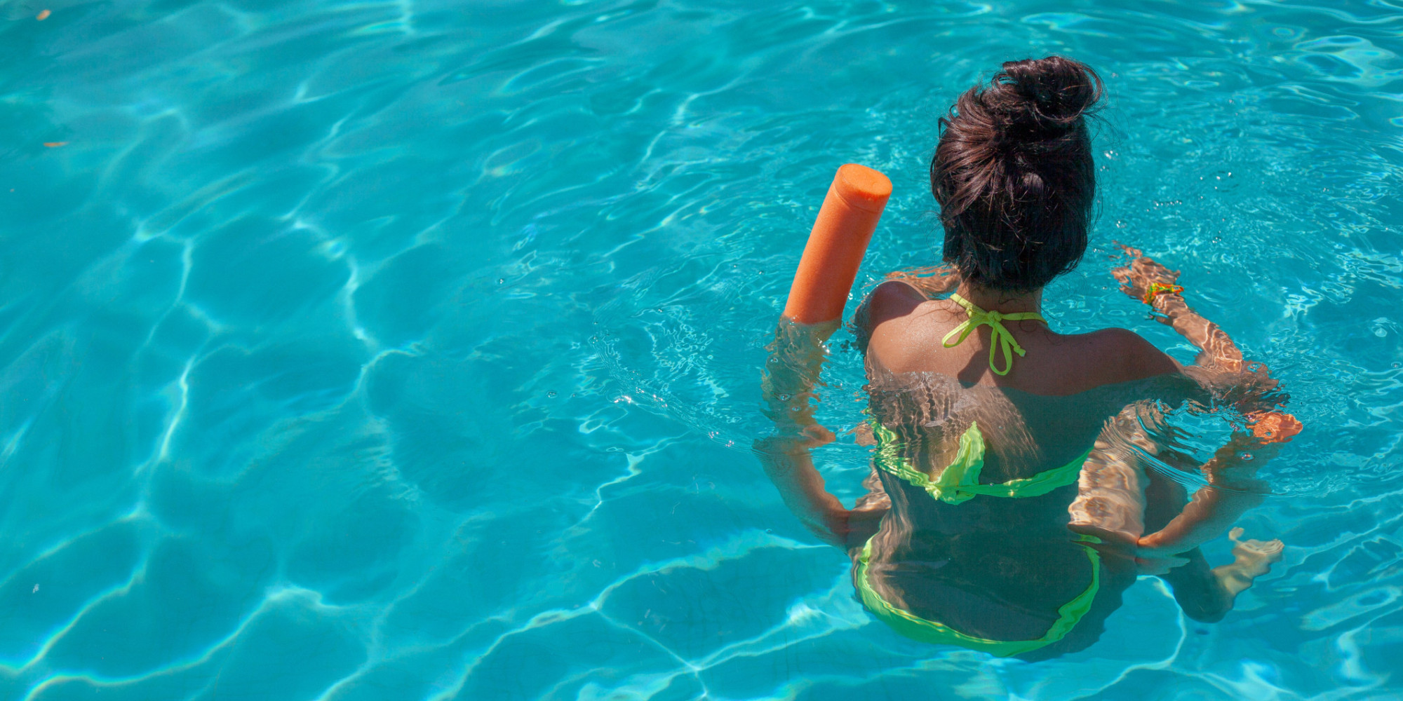 to the teenage girls at the swimming pool the huffington post