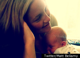First Picture Of Kate Hudson And Baby Bingham