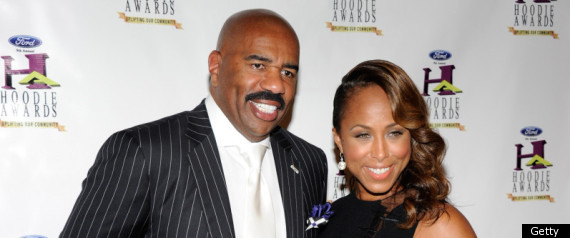 Steve Harvey's Wife Wears A VERY Revealing Dress To Gospel Event