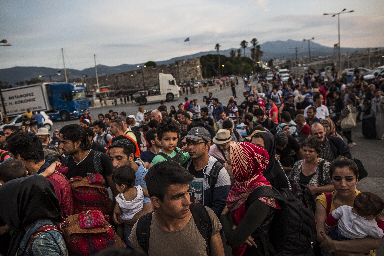 flüchtlinge kos