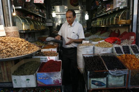 shopkeeper in iran