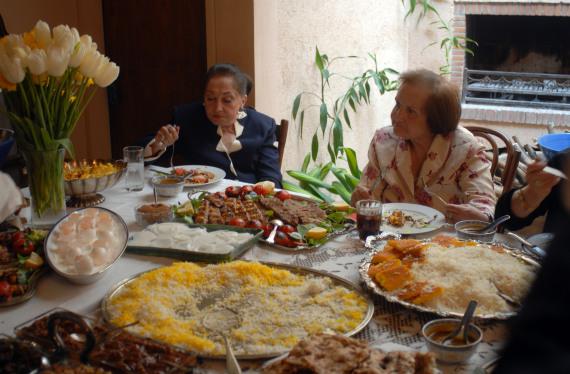 iranian home meal