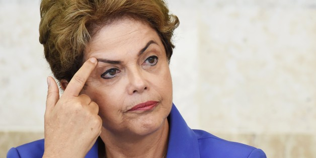 Images Brazilians Call For President Rousseff