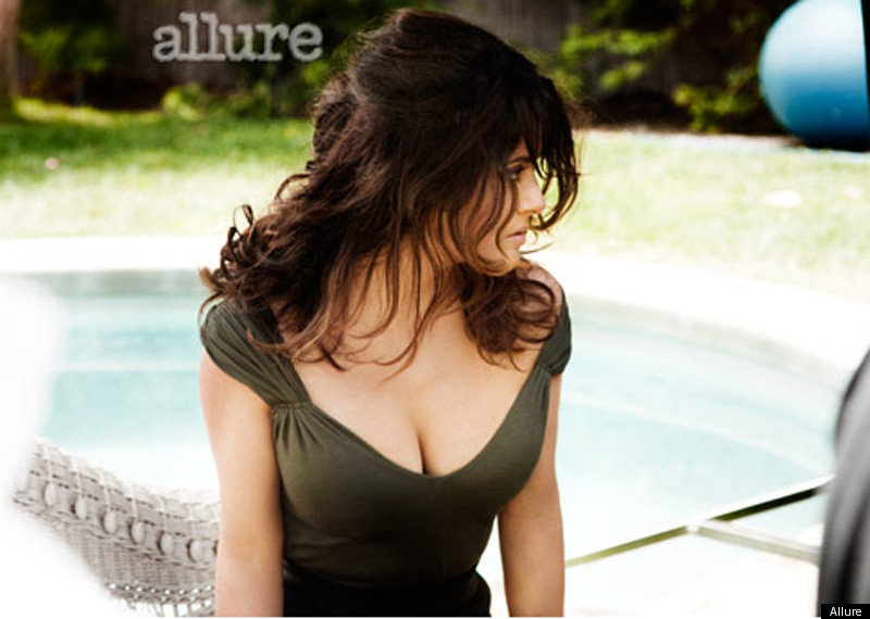Salma Hayek Covers Allure September Issue Actress Talks About Her Boobs  Huffpost-7197