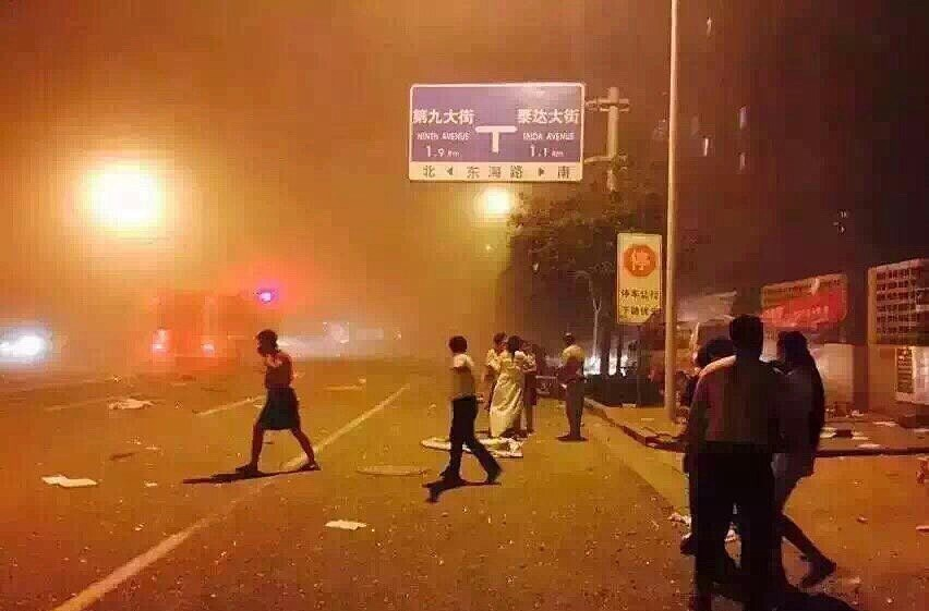 china explosion august 2015
