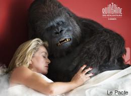 Catherine Deneuve au lit avec un gorille pour une comédie belge