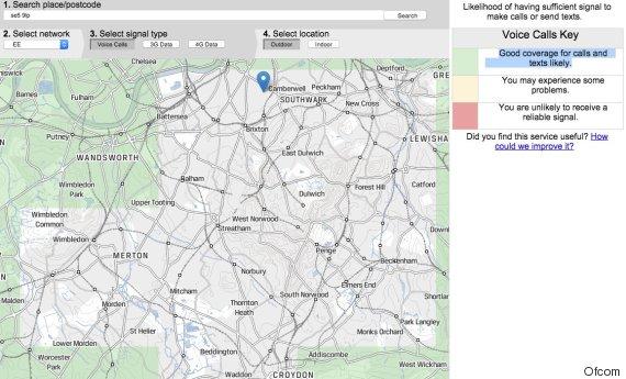 ofcom mobile tracker