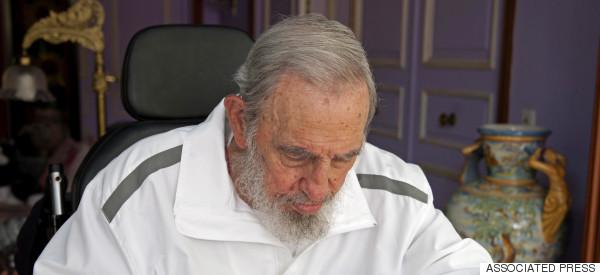 Fidel Castro cumple años y le reclama a EE. UU.