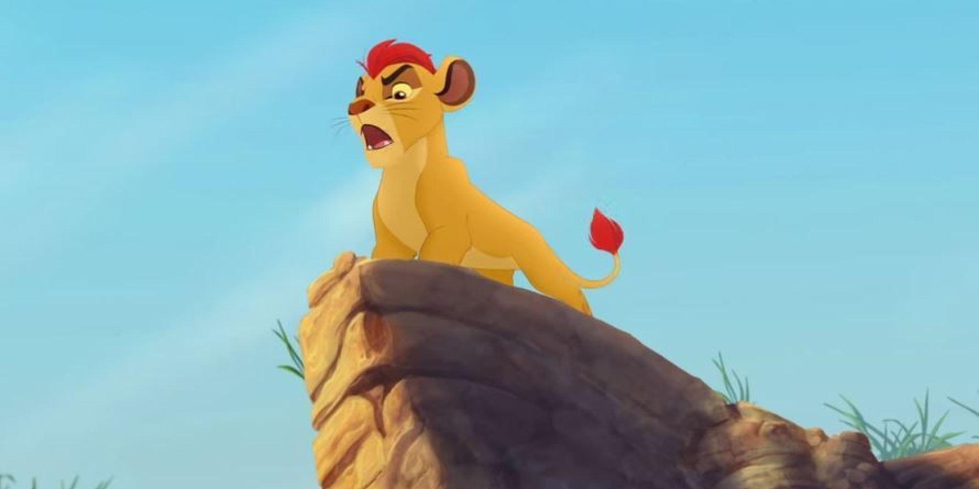 Vid o le roi lion de retour dans une s rie anim e - Animaux du roi lion ...